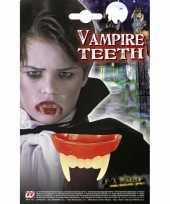 Carnavalskleding vampier tanden kinderen helmond