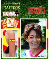 Carnavalskleding velletje spanje tattoos stuks helmond