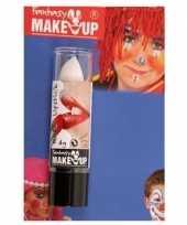 Carnavalskleding verkleed witte lipsticks lippenstiften mat helmond 10155616