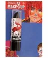 Carnavalskleding verkleed zwarte lipsticks lippenstiften mat helmond 10155618
