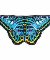 Carnavalskleding vlinder vleugeltjes clipper kinderen helmond