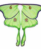 Carnavalskleding vlinder vleugeltjes maanvlinder kinderen helmond