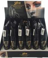 Carnavalskleding volume mascara zwart waterproof helmond