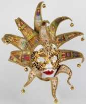 Carnavalskleding wandversiering reale tarot masker helmond