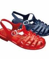 Carnavalskleding waterschoenen kinderen rood helmond