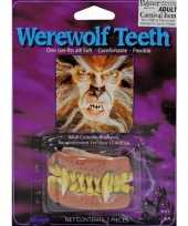 Carnavalskleding weerwolf gebitje helmond