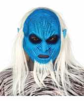 Carnavalskleding white walker monster masker latex helmond