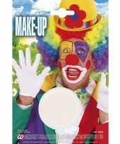 Carnavalskleding witte make up waterbasis helmond