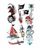 Carnavalskleding x piraten tattoeages kinderen helmond