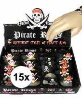 Carnavalskleding x uitdeel cadeau kinderfeestje piraten armbandje helmond 10104840