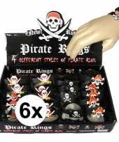 Carnavalskleding x uitdeel cadeau kinderfeestje piraten armbandje helmond