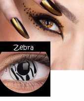 Carnavalskleding zebra print funlenzen helmond