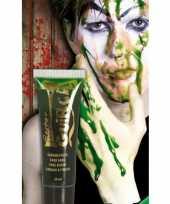 Carnavalskleding zombie bloed groen ml helmond
