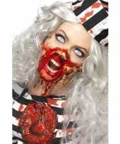 Carnavalskleding zombie latex make up set helmond