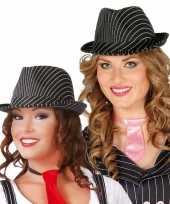 Carnavalskleding zwarte gleufhoed dames helmond