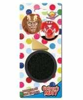 Carnavalskleding zwarte horror verkleed schmink gram sponsje helmond