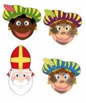 Carnavalskleding zwarte pieten sinterklaas feestmaskers kinderen stuks helmond