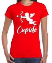 Cupido liefdes shirt carnavalskleding rood dames helmond 10181601