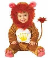 Dieren carnavalskleding leeuw baby helmond