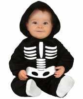 Skelettencarnavalskleding carnavalskleding baby peuter helmond