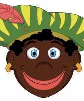 Zwarte pieten maskers knutselen carnavalskledingket helmond